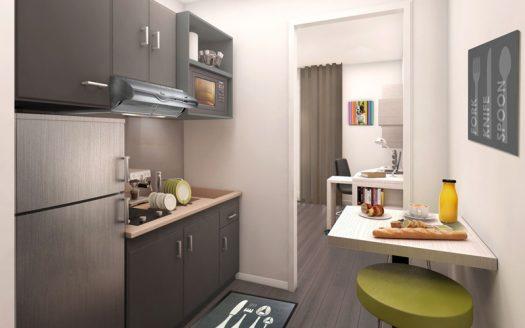 studio meuble residence de service a vendre