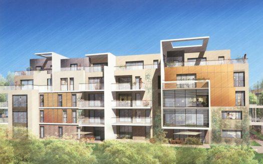 69008 LYON vente appartement T3 rez de jardin