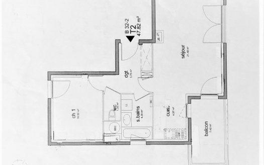 69008 LYON location appartement T2